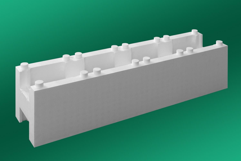 Piscine et pool avec des blocs de polystyrene for Prix piscine beton 6x4