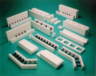les blos de coffrage blocs de polystyr ne ou blocs de. Black Bedroom Furniture Sets. Home Design Ideas